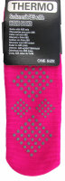 3er PackThermo-Stopper-Socken mit ABS Sohle pink