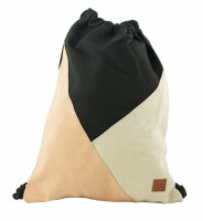"""Gym Bag """"Style"""" in coolem Patchwork-Design Sport-, Turnbeutel, Rucksack, Daypack"""