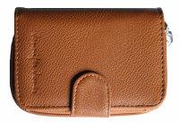 """Damengeldbörse """"Luna"""" top Ausstattung Mid-Size Portemonnaie mit seperatem Reißverschlussfach für Münzgeld"""